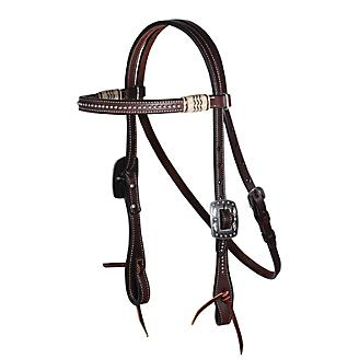 PC Collection 5/8in Dot Browband Headstall