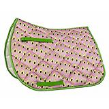 Lettia Embroidered Avocado All Purpose Saddle Pad