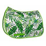Lettia Embroidered Palm Leaf Baby Pad Saddle Liner