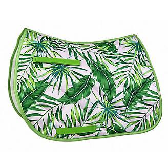 Lettia Embroidered Palm Leaf All Purpose Pad