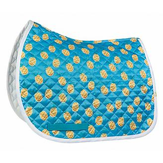 Lettia Embroidered Pineapple Baby Pad Saddle Liner