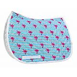 Lettia Embroidered Palm Tree Baby Pad Saddle Liner