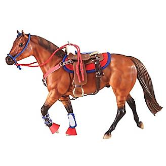 Breyer Western Riding Set in Hot Colors