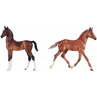 Breyer British Foal Set Thoroughbred/Hackney 2019