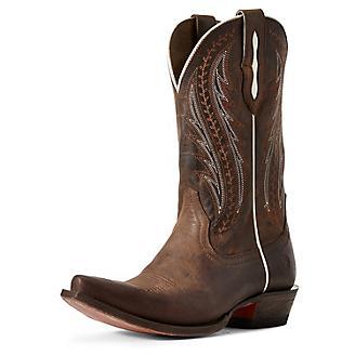 Ariat Ladies Tailgate Snip Toe Rust Boots