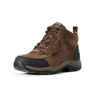 Ariat Mens Terrain H2O Insulated Brown Boots