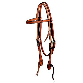 Wildfire 5/8in Cowboy Knot Browband Headstall