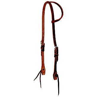 Wildfire 5/8in Cowboy Knot Single Ear Headstall