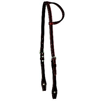 Wildfire 5/8in Stamp Single Ear Headstall
