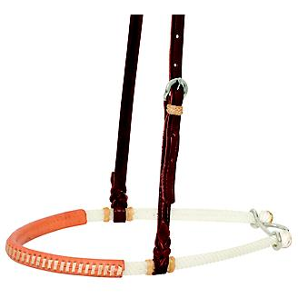 Wildfire 3/4in Double Rope Rawhide Lace Noseband