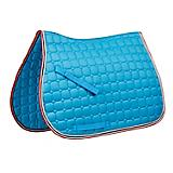 Saxon Coordinate Quilted AP Saddle Pad Pony Navy