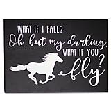What if I Fall/What if You Fly Wall Decor