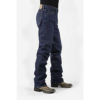 Stetson Mens 1520 Fit Dark Rinse Jeans