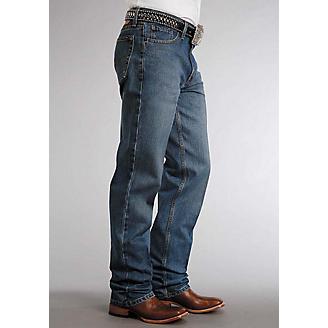 Stetson Mens 1520 Fit Classic Wash Jeans