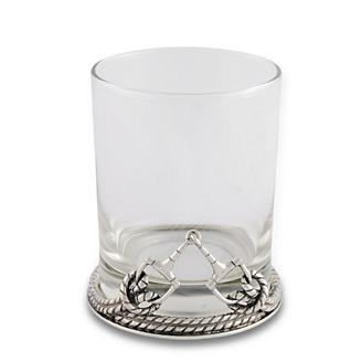 Vagabond House Bit Double Old Fashioned Glass