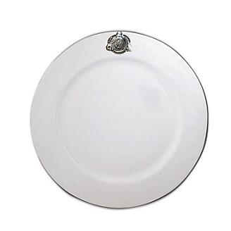 Vagabond House Equestrian Horseshoe Charger Plate