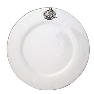 Vagabond House Equestrian Horseshoe Dinner Plate