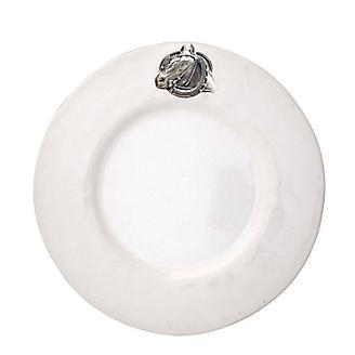 Vagabond House Equestrian Horseshoe Salad Plate