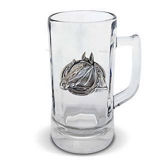 Vagabond House Horseshoe Beer Stein Glass