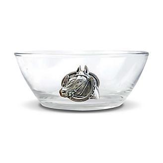 Vagabond House Horseshoe Dip/Nut Glass Bowl
