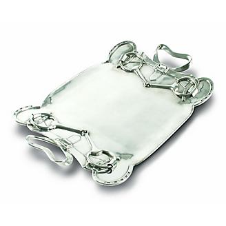 Vagabond House Equestrian Large Serving Tray