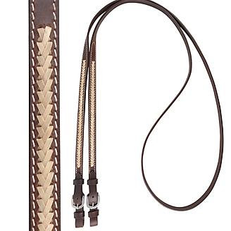 Cashel 5/8in x 8ft Laced Roping Reins