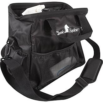 Classic Equine Black Grooming Tote