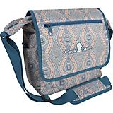 Classic Equine Messenger Bag In Bloom