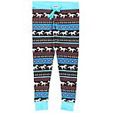 Lazy One Horse Fair Isle Womens Legging