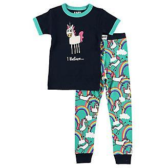 Lazy One Unicorn Kids Pajama Set