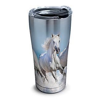 Tervis White Horses Stainless Steel Tumbler
