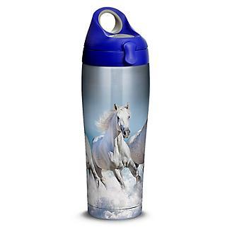 Tervis White Horses Stainless Steel Water Bottle