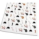 Equestrian White Kitchen Towel