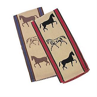 Waffle Weave Show Horses Kitchen Towel