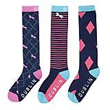 Dublin Rosa Socks 3-Pack
