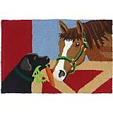 Jellybean Barn Friends Accent Rug