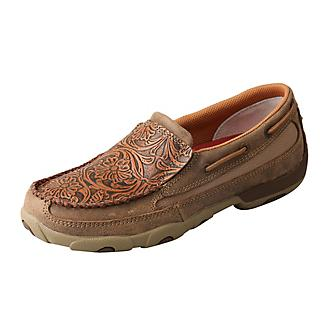 Twisted X Ladies Slip-On Bomber Driving Mocs