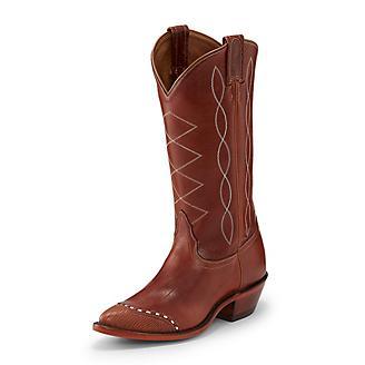 Tony Lama Ladies Narrow Sq Emilia Cog Boots