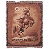 Cowboys by Choice Branded for Life 50x60 Throw
