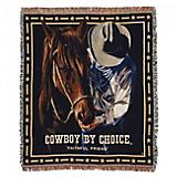 Cowboys by Choice Faithful Friend 50x60 Throw