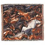 Horse of a Different Color 50x60 Throw Blanket
