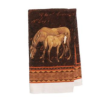 Mare and Foal Cloth Towel