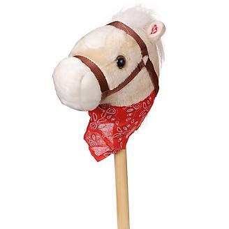 Plush Stick Horse w/Bandana and Sound