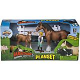 Farm Yard Discovery Horse Play Set
