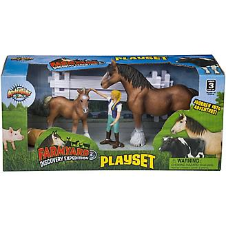Farm Yard Discovery Horse Play Set