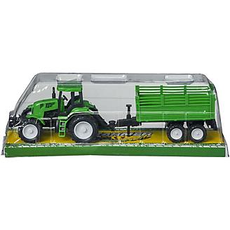 Polymar Free Wheel Tractor with Wagon Play Set