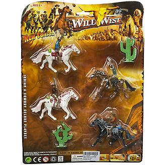 Wild West Cowboys and Horses Play Set
