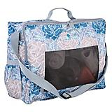 Classic Equine Rose Boot/Accessory Tote Bag