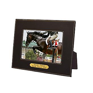Personalized Leather Picture Frame