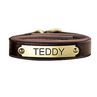 Personalized Havana Leather Bracelet